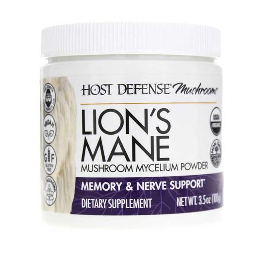 Lion's Mane Mushroom Mycelium Powder