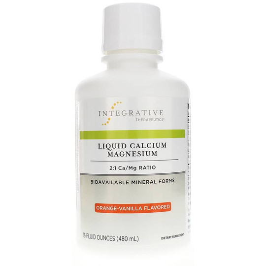 Liquid Calcium Magnesium 2:1 Orange Vanilla