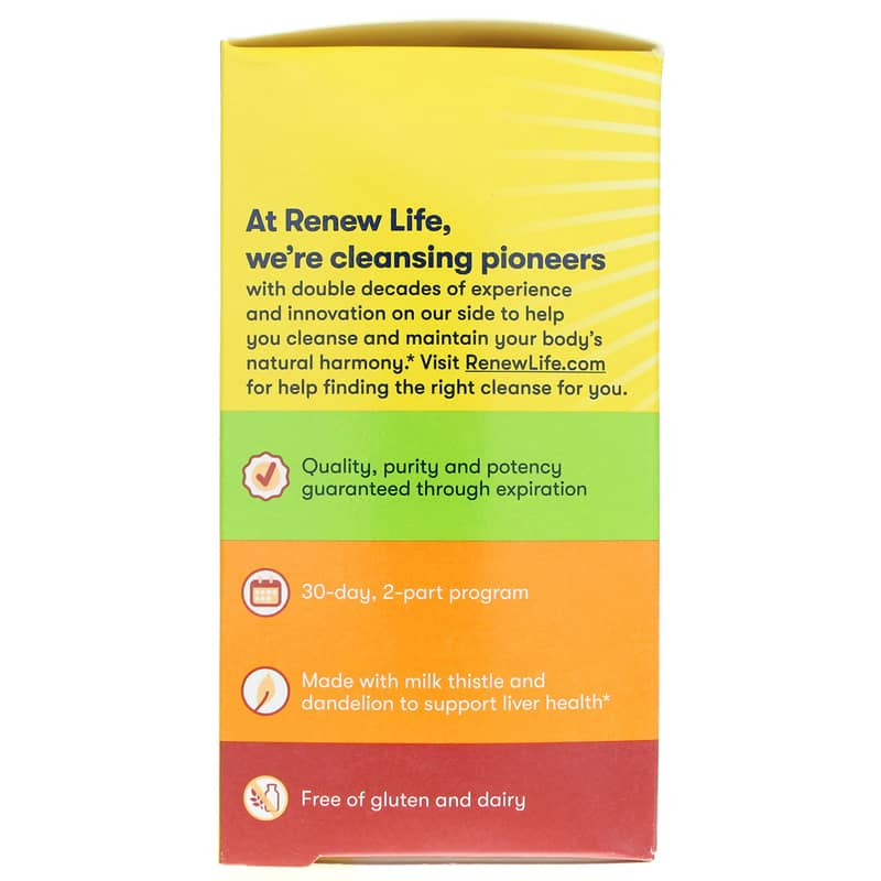 Liver Detox Organ Cleansing Program Renew Life
