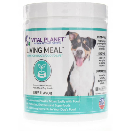 Living Meal Food Topper for Dogs Powder