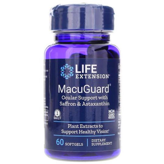 MacuGuard Ocular Support with Saffron & Astaxanthin