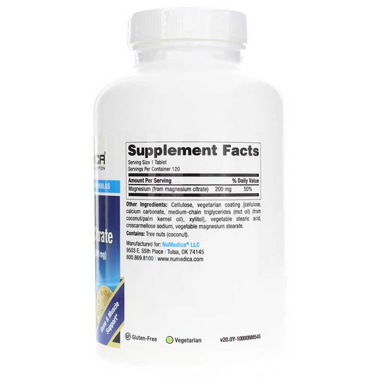 Magnesium Citrate Tablets Extra Strength