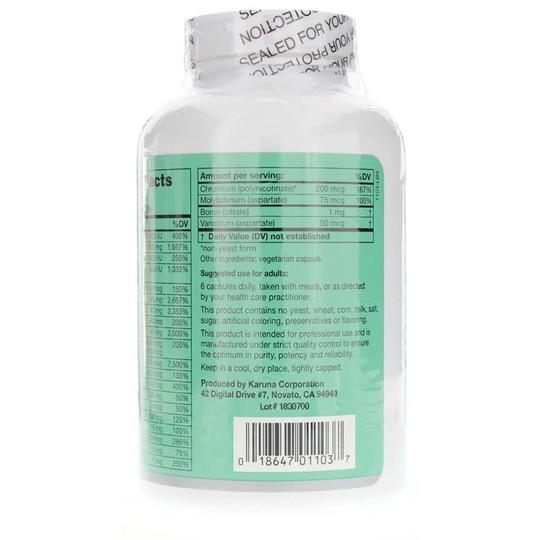 MAXXUM 3 Multivitamin and Mineral with 1:1 Calcium/Magnesium Ratio
