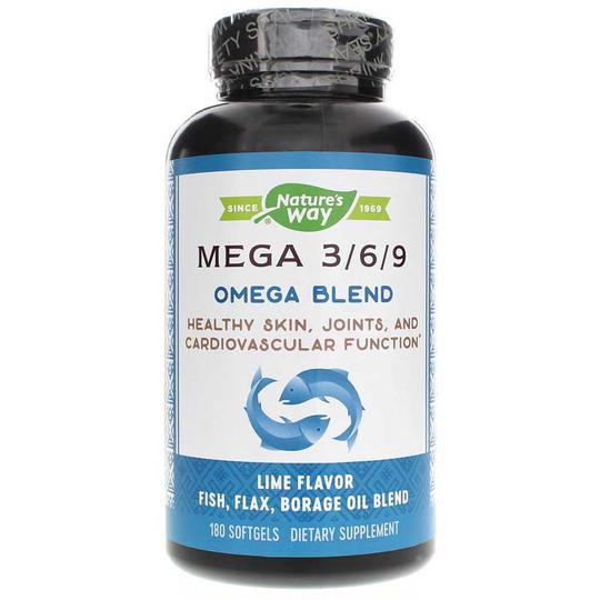 Mega 3-6-9 Omega Blend