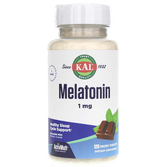 melatonin-1-mg-activmelt-KAL-choc-mint
