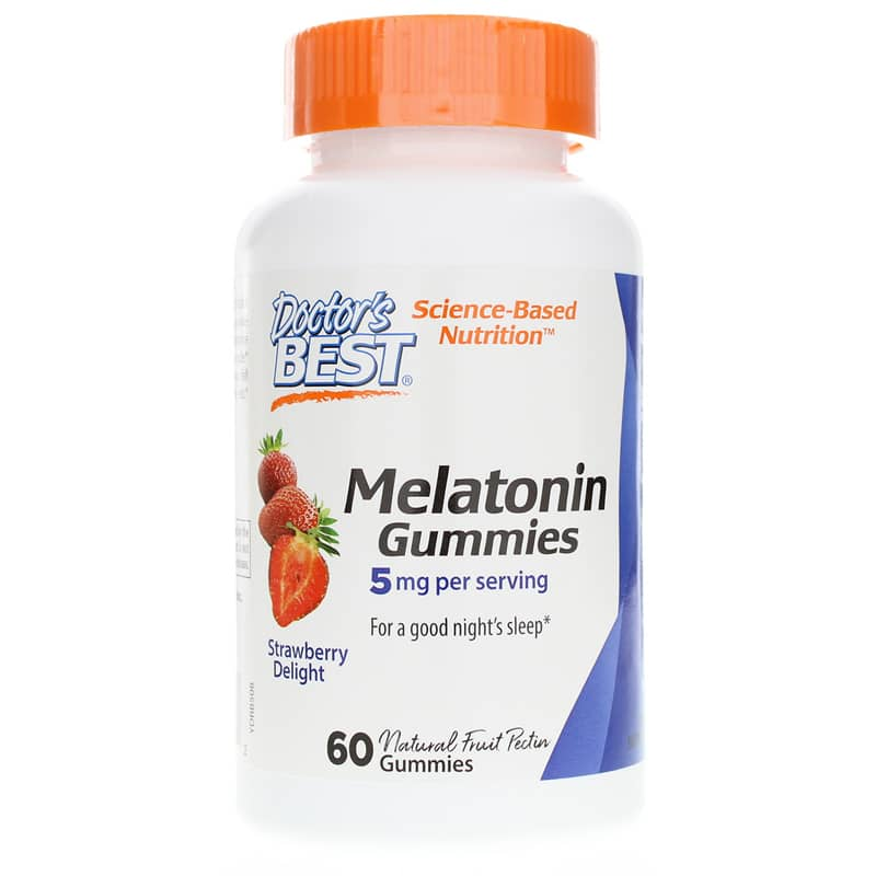 Melatonin Gummies 5 Mg Strawberry Delight