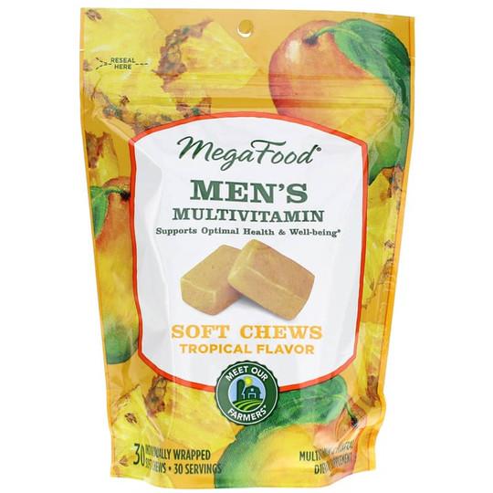 Men's Multivitamin Soft Chews Tropical