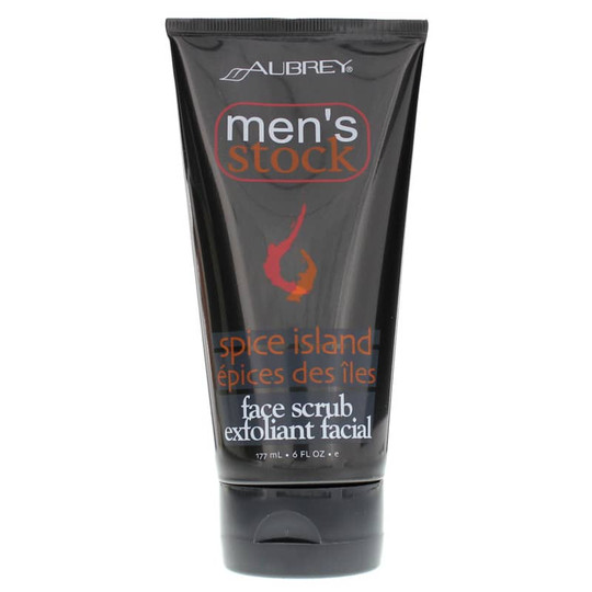 Men's Stock Spice Island Face Scrub