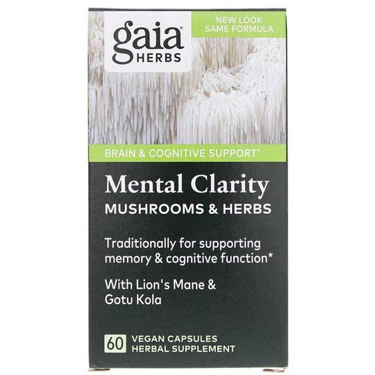 Mental Clarity Mushrooms & Herbs