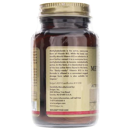 Methylcobalamin Sublingual 1000 Mcg