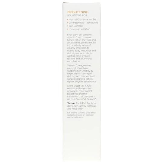Meyer Lemon Creamy Cleanser, Brightening Formula