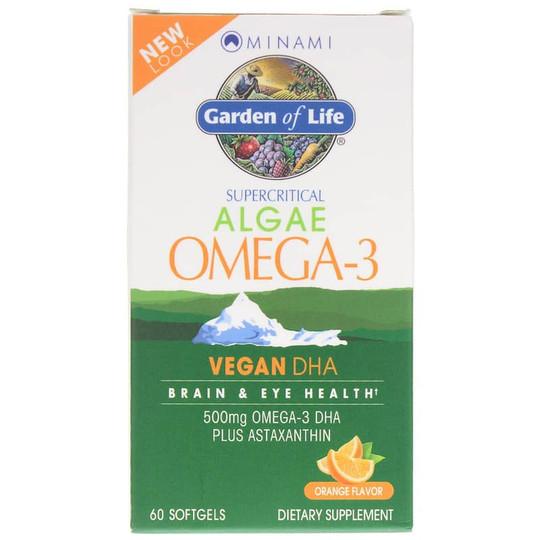 Minami Algae Omega-3 Vegan DHA