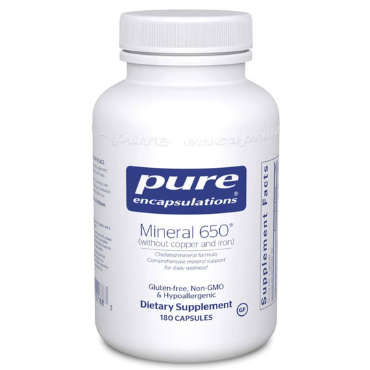 Mineral 650 without copper & iron
