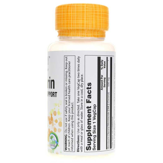 Monolaurin 500 Mg (Natural Coconut Source)