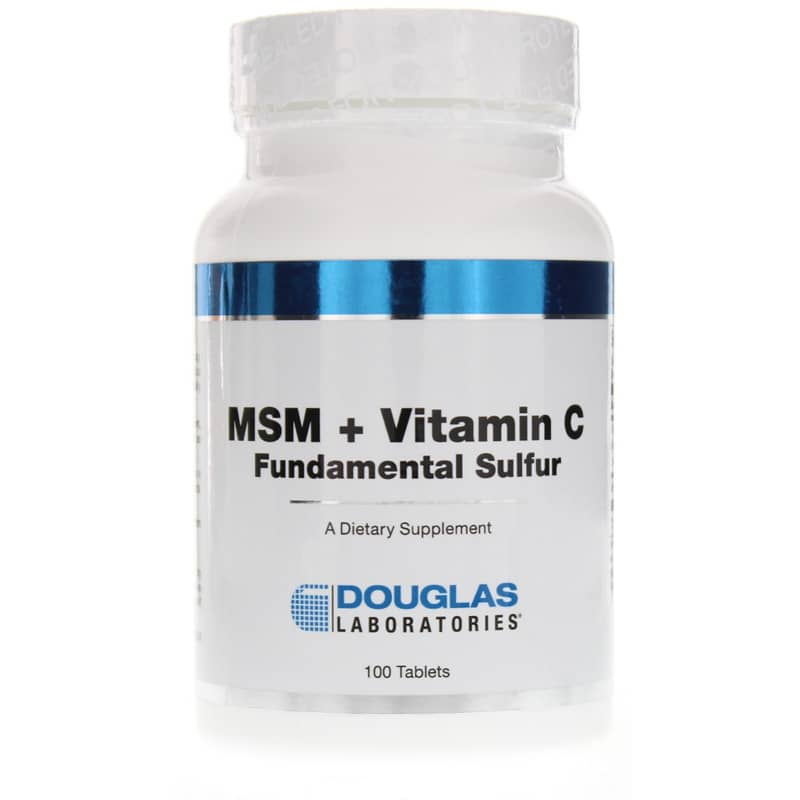 MSM + Vitamin C Fundamental Sulfur