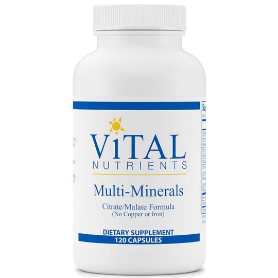 Multi-Minerals Citrate/Malate Formula (No Copper or Iron)