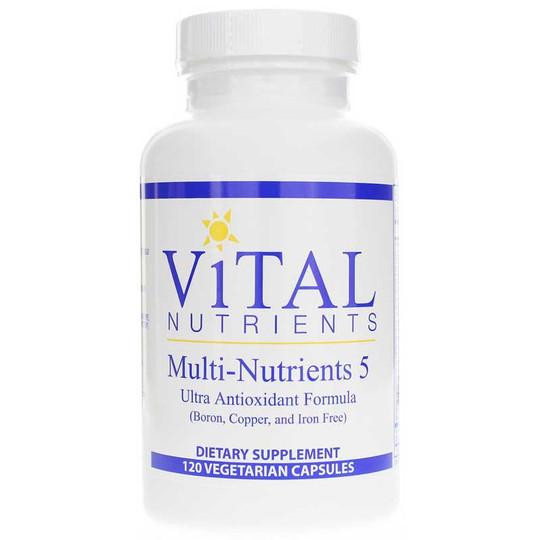 Multi-Nutrients 5 (Boron, Copper & Iron Free)