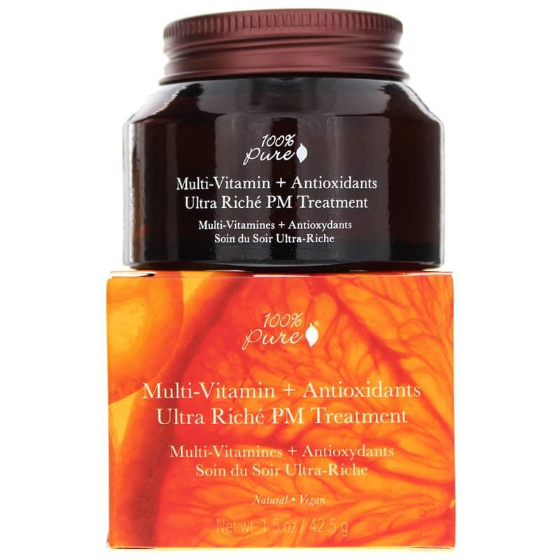 Multi-Vitamin + Antioxidants Ultra Riche PM Treatment by 100% pure #12