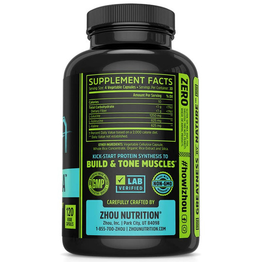 Muscle BCAA 2500 Mg Capsules