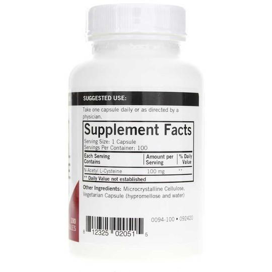 N-Acetyl Cysteine 100 Mg