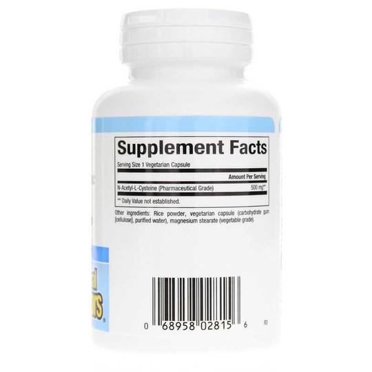 NAC N-Acetyl-L-Cysteine 500 Mg