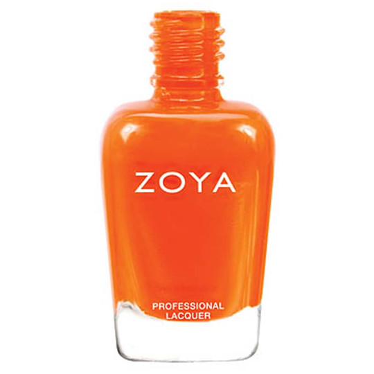Nail Polish Orange, Zoya