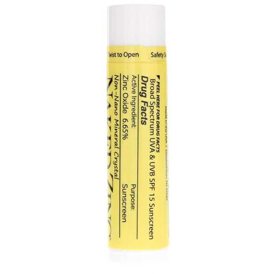 Naked Zinc Lip Balm SPF 15, Naked Bee
