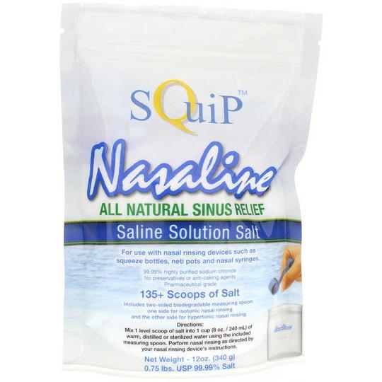 Nasaline Saline Solution Salt