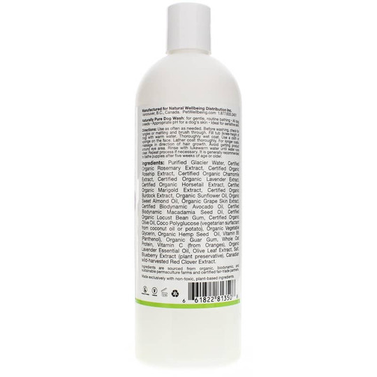 Naturally Pure Dog Wash Lavender Scent