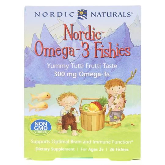 Nordic Omega-3 Fishies Tutti Frutti