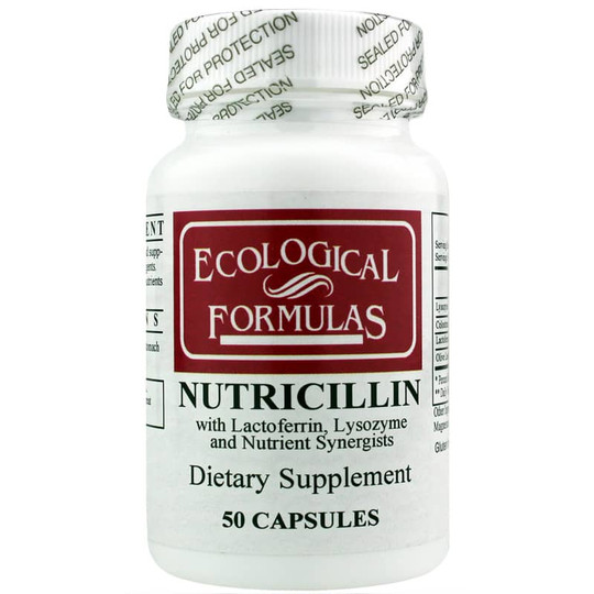 Nutricillin with Lactoferrin, Lysozyme and Nutrient Synergists