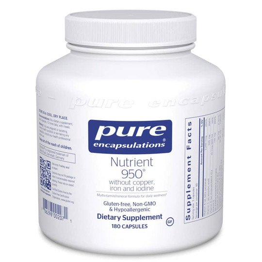 Nutrient 950 without copper, iron and iodine
