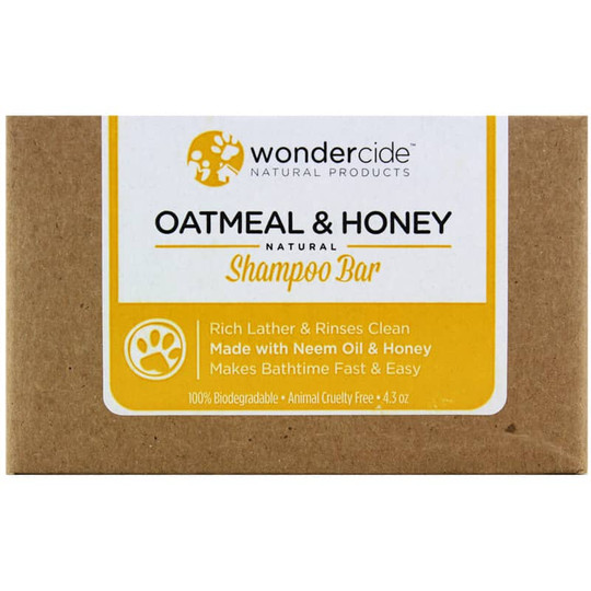 Oatmeal & Honey Natural Shampoo Bar for Pets