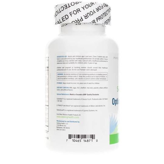 Optimal Multivitamin Chewable