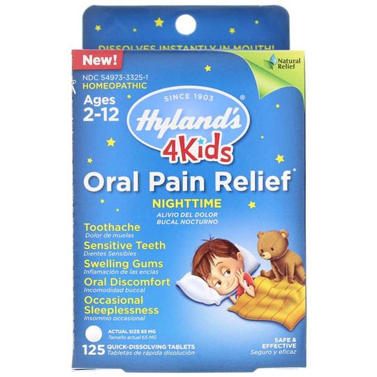 Oral Pain Relief Nighttime 4 Kids