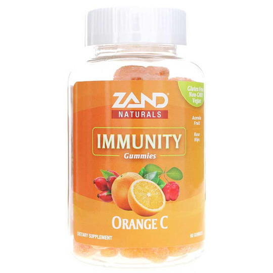 Orange C Immunity Gummies, 60 Gummies, Zand