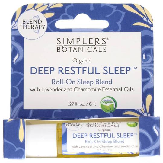Organic Deep Restful Sleep Roll-On Essential Oil