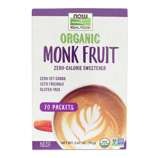 Organic Monk Fruit Sweetener Packets