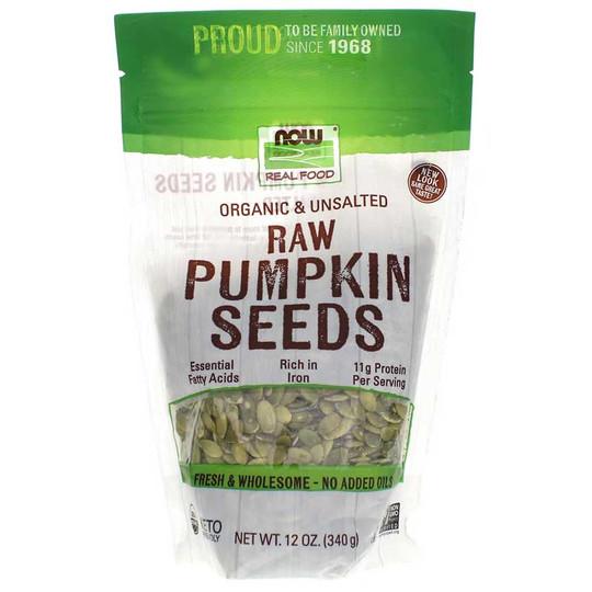 Organic Pumpkin Seeds Unsalted