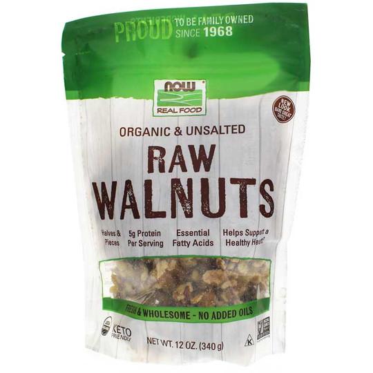 Organic Raw Walnuts Unsalted