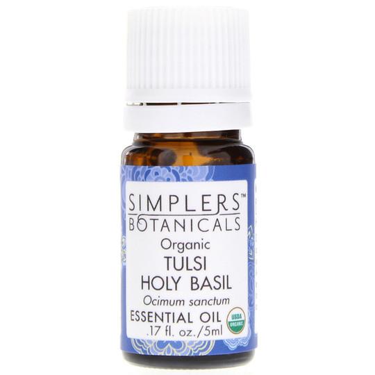 Organic Tulsi Holy Basil Essential Oil