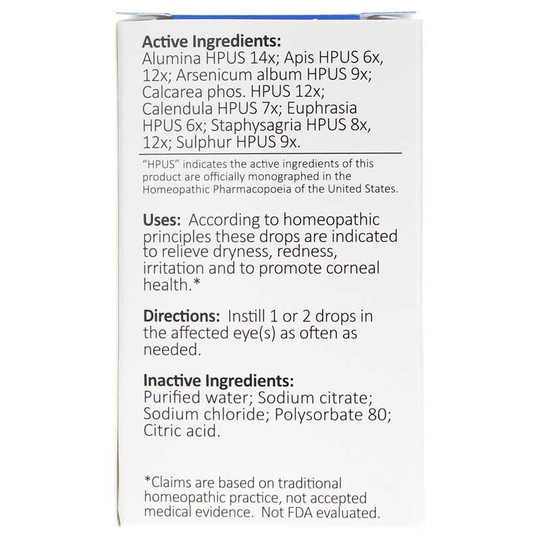 Ortho-K Thin (Daytime) Homeopathic Eye Drops