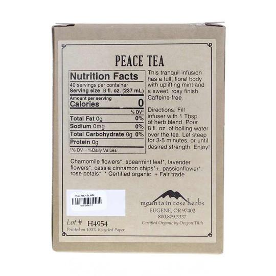 Peace Tea, Mountain Rose Herbs