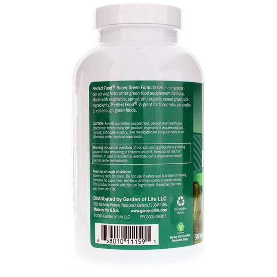 Perfect Food Super Green Formula Caplets