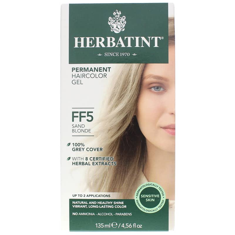 Permanent Hair Color Gel FF5 Sand Blonde