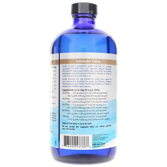 Pet Cod Liver Oil Large to Very Large Dogs