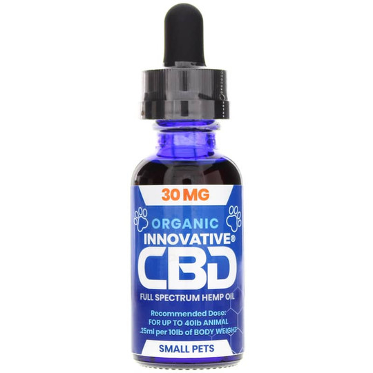 Pet Tincture 30 Mg CBD for Small Pets