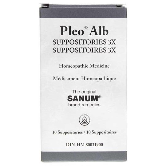 Pleo Alb Suppositories 3X