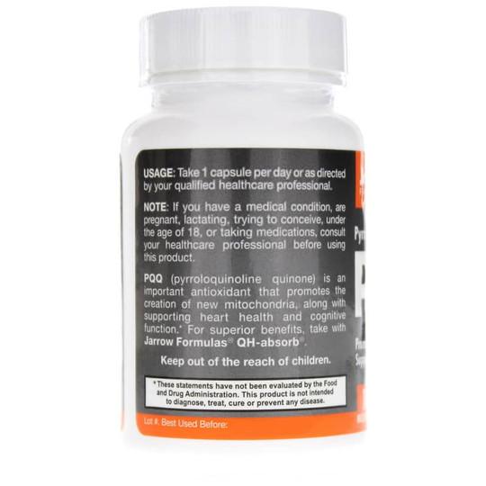 PQQ Pyrroloquinoline quinone 10 Mg