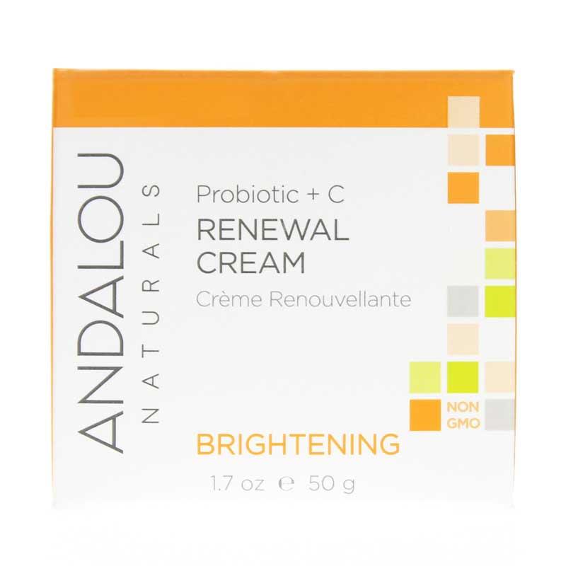 Probiotic plus c renewal cream brightening formula adn main%2c1